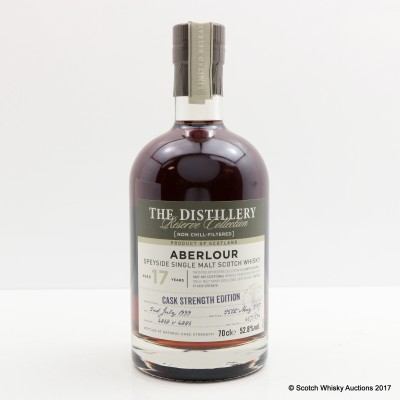 Aberlour 1999 17 Year Old Distillery Reserve Collection