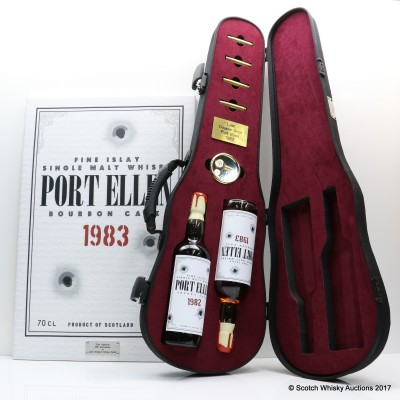 Port Ellen 1982 & 1983 'Don Gallione' Jack Wieber's World 20th Anniversary With Canvas Print