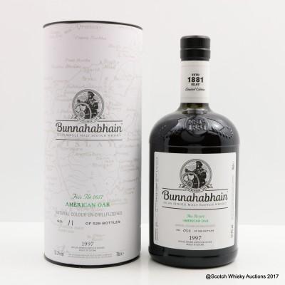 Bunnahabhain Feis Ile 2017 American Oak