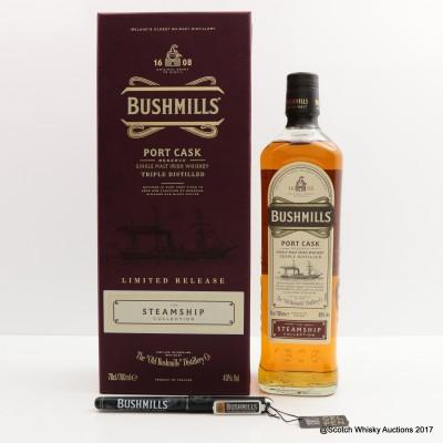 Bushmills Port Cask Steamship Collection & Bushmill's Pen