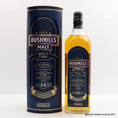 Bushmills 12 Year Old 1L