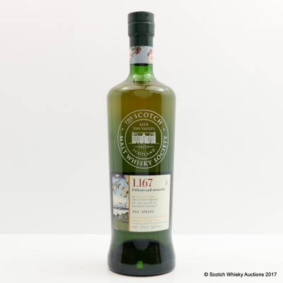 SMWS 1.167 Glenfarclas 25 Year Old Spring for 20th Anniversary of the Society's Japanese Branch