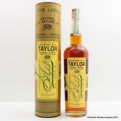 Colonel E.H Taylor Barrel Proof 75cl