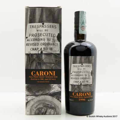 Caroni 1996 20 Year Old Heavy Trinidad Rum 35th Release