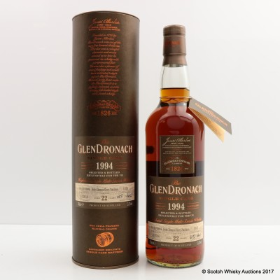 GlenDronach 1994 22 Year Old Single Cask #1376 For The Uk