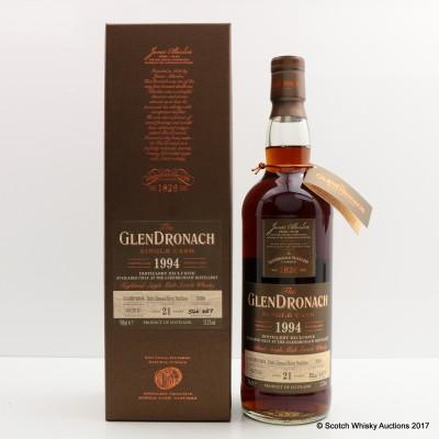 GlenDronach 1994 21 Year Old Single Cask #3399