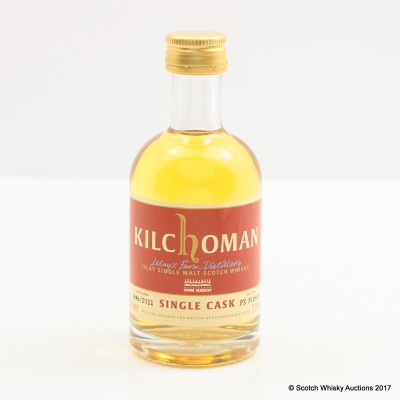 Kilchoman 2011 Single Cask for Wine Market Mini 5cl