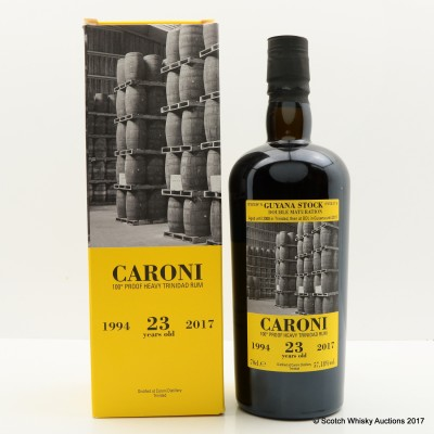 Caroni 1994 23 Year Old Heavy Trinidad Rum 36th Release