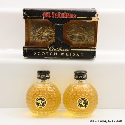 Old St Andrews Clubhouse Blended Scotch Minis 2 x 5cl