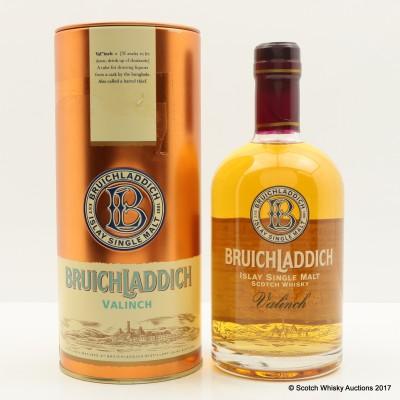 Bruichladdich Valinch Celebrating Re-opening Of Distillery 50cl