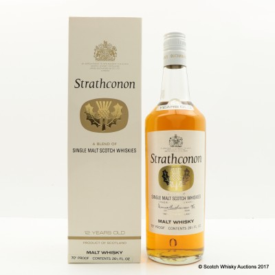 Strathconon 12 Year Old 26 2/3 Fl Oz