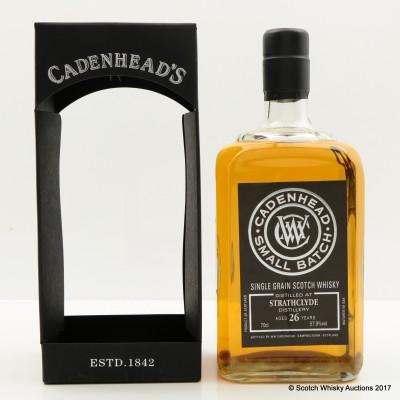 Strathclyde 26 Year Old Cadenhead's