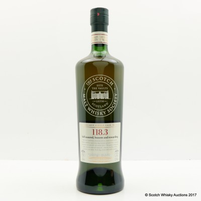 SMWS 118.3 Cooley (Peated) 1991 22 Year Old