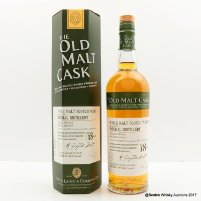 Imperial 1995 18 Year Old Old Malt Cask