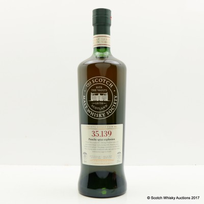SMWS 35.139 Glen Moray 1994 20 Year Old