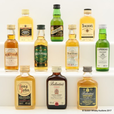 Allied Distillers Miniature Collection 10 x 5cl
