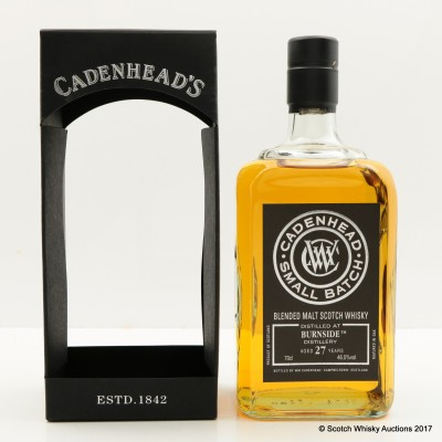 Burnside 1989 27 Year Old Cadenhead's