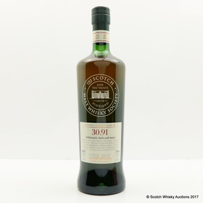 SMWS 30.91 Glenrothes 1997 18 Year Old