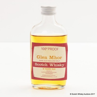 Glen Mhor 8 Year Old Gordon & MacPhail Mini