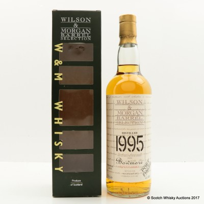 Bowmore 1995 Port Finish Wilson & Morgan