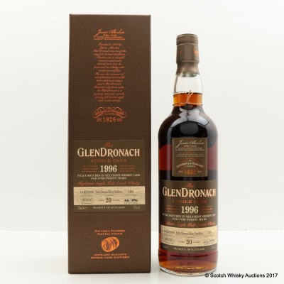 GlenDronach 1996 20 Year Old Single Cask #1485