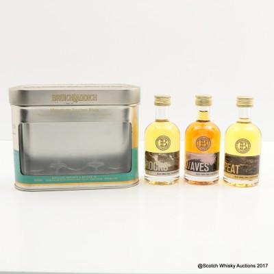 Bruichladdich Miniature Tasting Pack 3 x 5cl