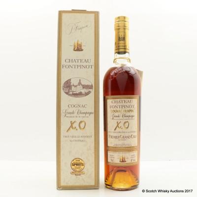 Chateau Fontpinot Grande Champagne XO Cognac