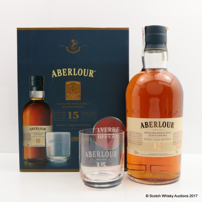 Aberlour 15 Year Old 1L Gift Set with Glass