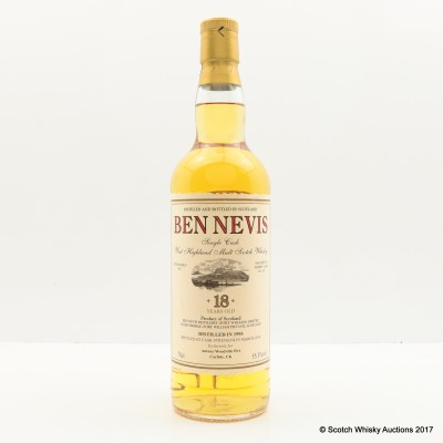 Ben Nevis 1995 18 Year Old Private Cask #922