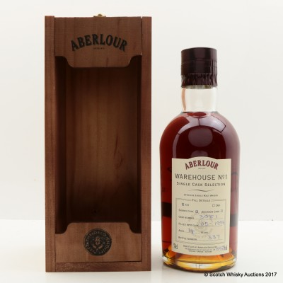 Aberlour 1993 14 Year Old Hand Filled Warehouse No1