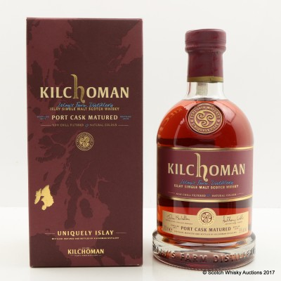 Kilchoman Port Cask 2014 Release