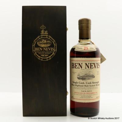 Ben Nevis 1984 25 Year Old Single Cask