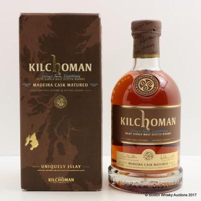 Kilchoman Madeira Cask 2015 Release