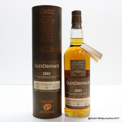 GlenDronach 2003 13 Year Old Single Cask #713 For Green Welly Stop