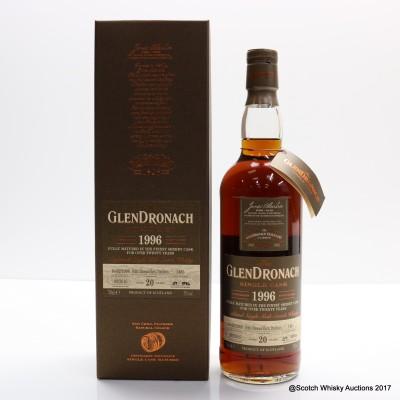 GlenDronach 1996 20 Year Old Single Cask #1485