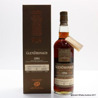 GlenDronach 1994 21 Year Old Single Cask #3399 Distillery Exclusive