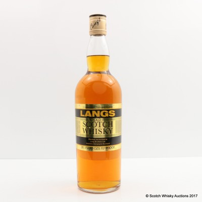 Langs Old Scotch Whisky 26 23 FL OZ