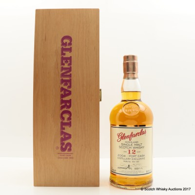Glenfarclas 2004 12 Year Old Port Cask Distillery Exclusive
