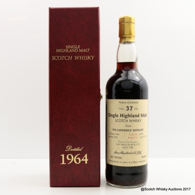 Glenfiddich 1964 37 Year Old Ian MacLeod