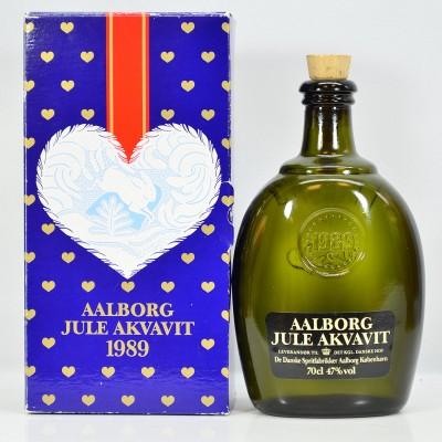 Aalborg Jule Akavit 1989