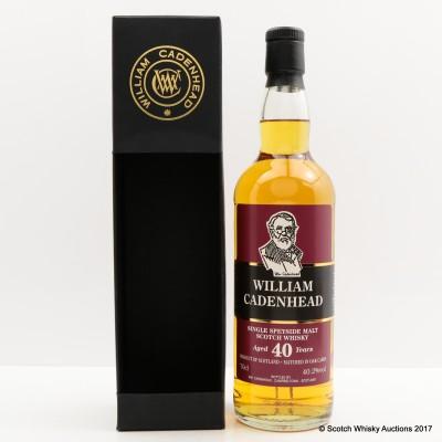 Glenfarclas 40 Year Old Cadenhead's