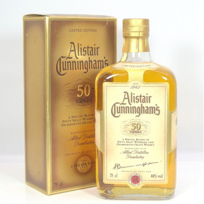 Alistair Cunningham's 50 Years 75cl