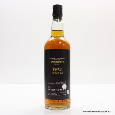 Caperdonich 1972 40 Year Old Whiskyman & QI.ID