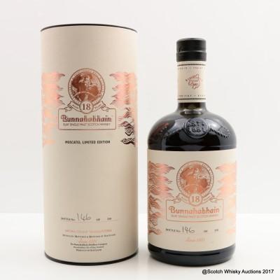 Bunnahabhain Feis Ile 2015 18 Year Old Moscatel Limited Edition