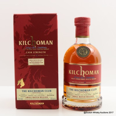 Kilchoman 2011 Small Batch Release For The Kilchoman Club Fourth Edition