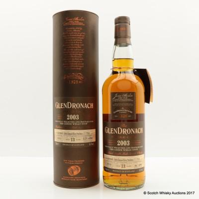 GlenDronach 2003 13 Year Old Single Cask #713