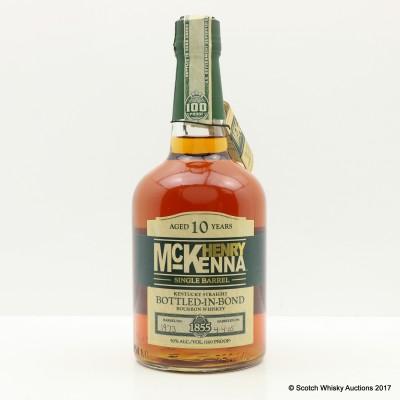 Henry McKenna 10 Year Old Single Barrel 75cl