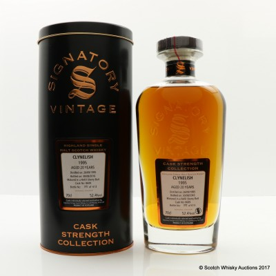 Clynelish 1995 20 Year Old Signatory