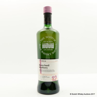 SMWS 100.14 Strathmill 2005 12 Year Old