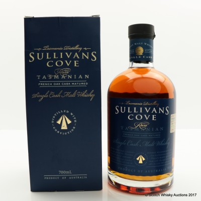 Sullivan's Cove French Oak Cask #HH0423